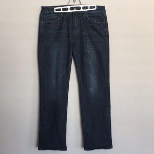 American Eagle Men's Dark Blue Jeans Size 32/32